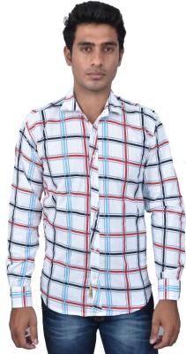 Royal Crown Men's Solid Casual Multicolor Shirt