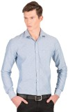 Taurus Men's Printed Casual Blue Shirt