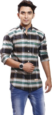 Union Street Clothing Men's Checkered Casual Multicolor Shirt