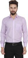 Utility Studio Formal Shirts (Men's) - Utility Studio Men's Solid Formal Purple Shirt