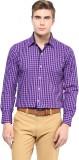 The Vanca Men's Checkered Formal Purple ...