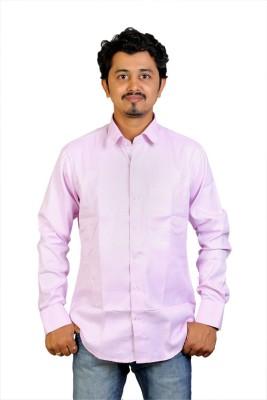 Egoist Men's Woven Formal Pink Shirt