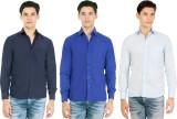 Atmosphere Men's Solid Formal Blue, Dark...