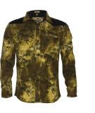 Lumber Boy Boys Printed Casual Gold Shir...