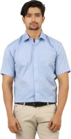 Appayes Formal Shirts (Men's) - APPAYES Men's Solid Formal Blue Shirt