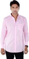 Bendiesel Formal Shirts (Men's) - Bendiesel Men's Solid Formal Pink Shirt