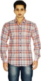 Binnote Men's Checkered Casual Multicolo...