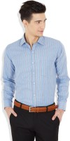 Arihant Formal Shirts (Men's) - Arihant Men's Striped Formal Blue Shirt