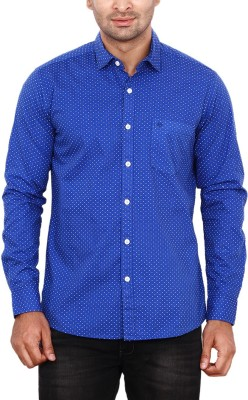 ANDY TRENDZ Men's Printed Casual Blue Shirt