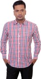 Countryside Men's Checkered Formal Red, ...