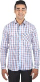 ELIXL INDIA Men's Checkered Casual Multi...