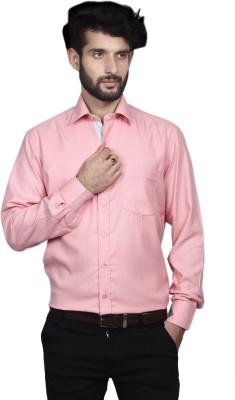 Yorkshire Men's Solid Formal Beige Shirt