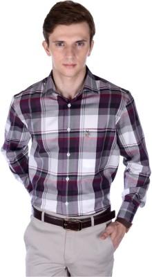 FRANK JEFFERSON Men's Checkered Casual Multicolor Shirt