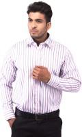 Indian Weller Formal Shirts (Men's) - Indian Weller Men's Striped Formal Multicolor Shirt