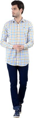 Piccolo Clothings Men's Checkered Casual Multicolor Shirt