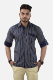 Your Desire Shirts Men's Checkered Casua...