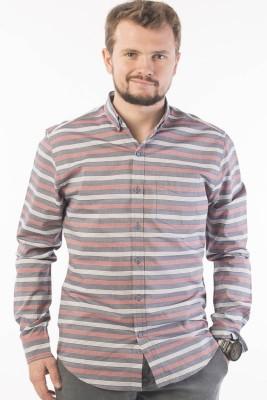 Srota Men's Striped Casual Multicolor Shirt