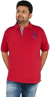 CIROCO Solid Men,s Polo Neck Maroon T-Shirt