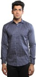 Just Differ Men's Geometric Print Casual...