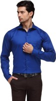 Hancock Formal Shirts (Men's) - Hancock Men's Solid Formal Blue Shirt