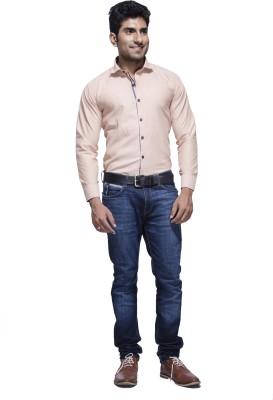 Jads Men's Polka Print Casual Pink, Blue Shirt