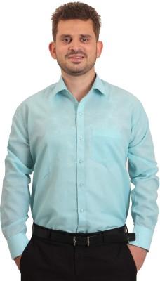 The Standard Men's Solid Casual Light Blue Shirt