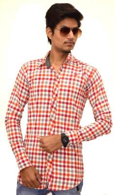 Sharp Fashion Men's Checkered Casual Multicolor Shirt
