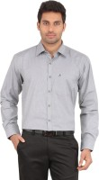 All Times Formal Shirts (Men's) - All Times Men's Solid Formal Grey Shirt