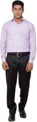 Slg Retail Pvt Ltd Men's Solid Formal Pink Shirt