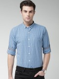 Mast & Harbour Men's Checkered Casual Bl...