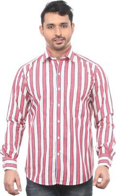 Chill Men's Striped Formal Multicolor Shirt