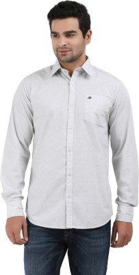 Haberfield Men's Solid Casual White Shirt