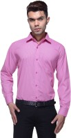 Jads Formal Shirts (Men's) - Jads Men's Checkered Formal Pink Shirt