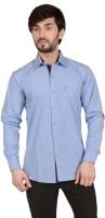 Tomiris Formal Shirts (Men's) - TomIris Men's Solid Formal Light Blue Shirt