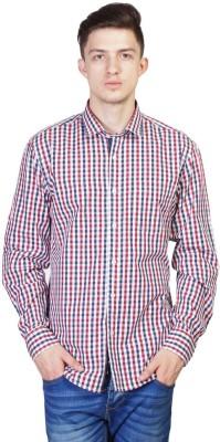 Seaboard Men's Checkered Casual Multicolor Shirt