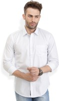 Urban Attire Formal Shirts (Men's) - Urban Attire Men's Self Design Formal White Shirt