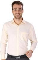 Magson Elite Formal Shirts (Men's) - Magson Elite Men's Solid Formal Yellow Shirt