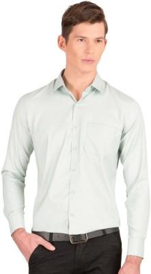 Taurus Men's Printed Casual Light Green Shirt