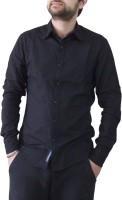 Leebazone Formal Shirts (Men's) - LeebaZone Men's, Boys Solid Formal Black Shirt