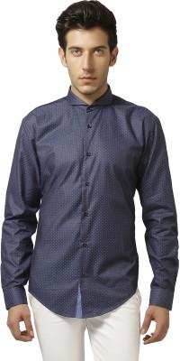 Karsci Men's Solid Lounge Wear Blue Shirt