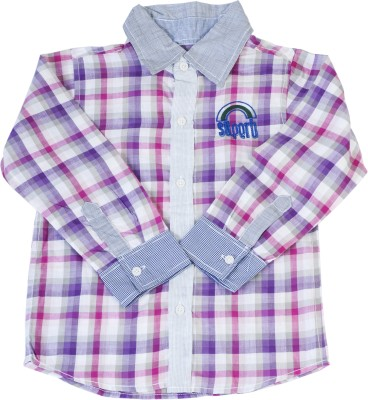 Addyvero Boy's Checkered Casual Multicolor Shirt
