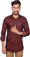 Gargi Fashions Formal Shirts (Men's) - Gargi Fashions Men's Solid Formal Maroon, Maroon Shirt