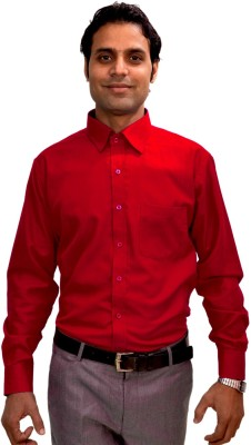 AVS Polo Men's Solid Casual Red Shirt