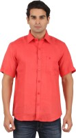 Gm Formal Shirts (Men's) - GM Men's Solid Formal Red Shirt