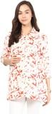 Mine4Nine Women's Floral Print Casual Mu...