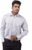 Indian Weller Men's Striped Formal Multi...
