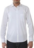 Valessi Formal Shirts (Men's) - Valessi Men's Striped Formal White Shirt