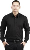 Trendster Formal Shirts (Men's) - Trendster Men's Solid Formal Black Shirt