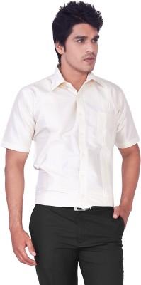 Mark Anderson Men's Printed Casual Grey Shirt