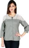 Faireno Women's Solid Casual Grey, White...
